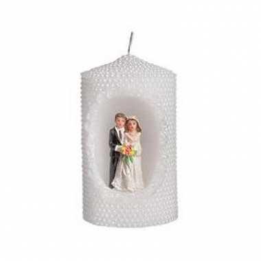 Bruiloft kaars 10 cm