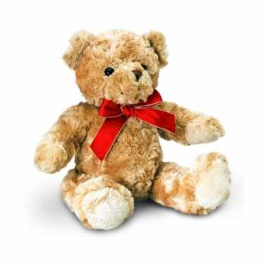 Bruine traditionele beer zittend 25cm