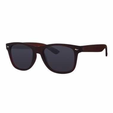 Bruine zonnebrillen voor kids