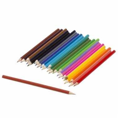Budget kleurpotloden 24 stuks