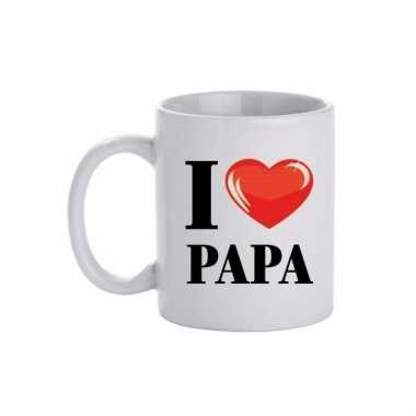 Cadeau beker voor papa 300 ml