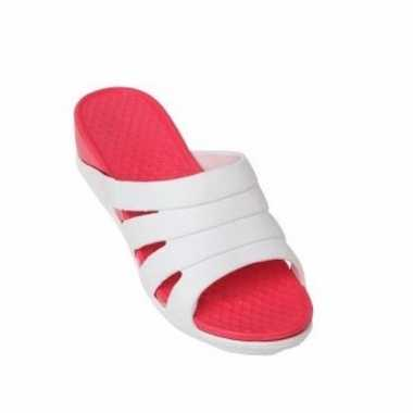 Camping slippers rood