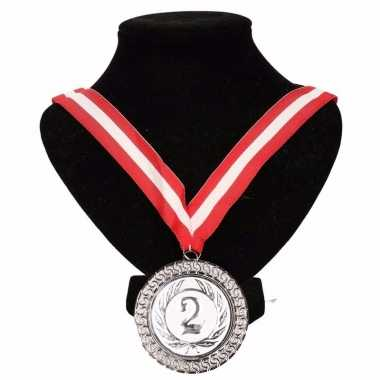 Canada medaille nr. 2 halslint rood/wit/rood