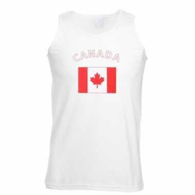 Canada vlaggen tanktop/ t-shirt