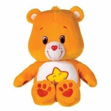 Care bear knuffelbeer oranje 22 cm