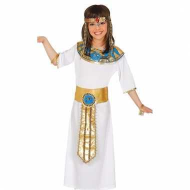 Carnaval outfit egyptische koningin voor meisjes
