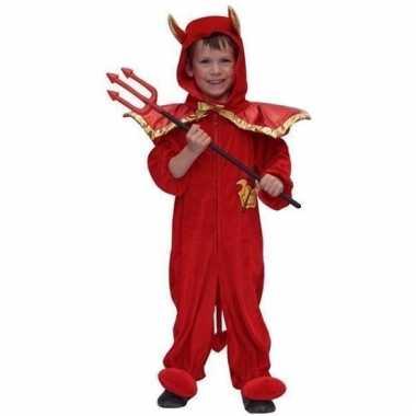 Carnavalskleding duiveltje kinderen