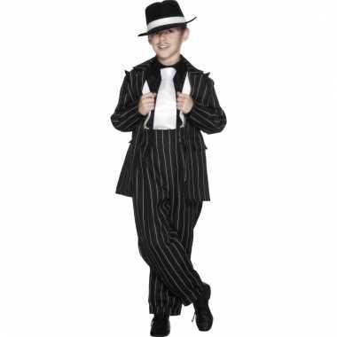Carnavalskleding gangster kostuum
