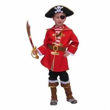 Carnavalskleding kapitein piraat