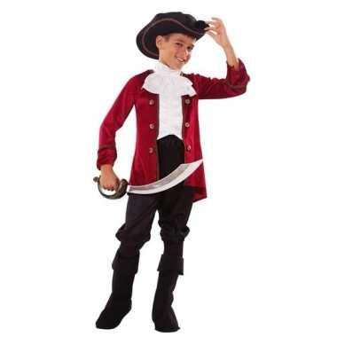 Carnavalskleding piraten outfit voor jongens