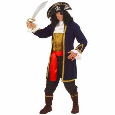 Carnavalskleding piratenpak luxe