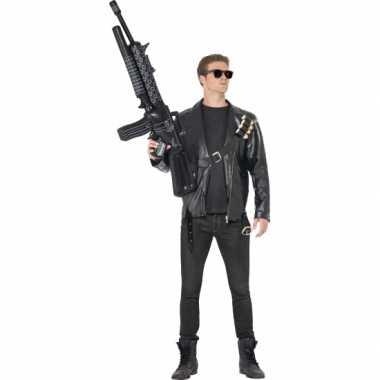 Carnavalskleding terminator arnold schwarzenegger look-a-like kostuum