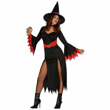 Carnavalskostuum heksen jurk voor dames