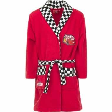 Cars fleece badjas rood