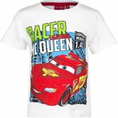 Cars shirt lightning mcqueen wit