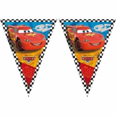 Cars thema vlaggenlijn 3 meter