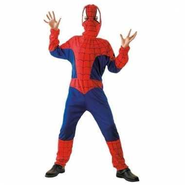 Cartoon kostuum spinnen jongen