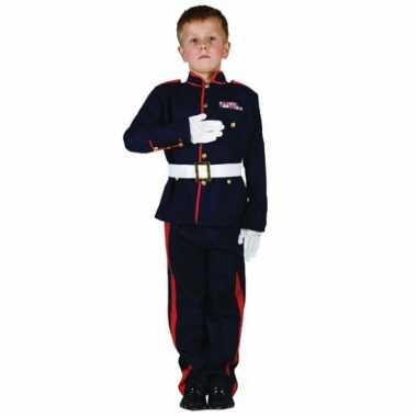 Ceremoniele soldaat kostuum voor kids