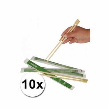 Chinese eetstokjes 10x 2 stuks