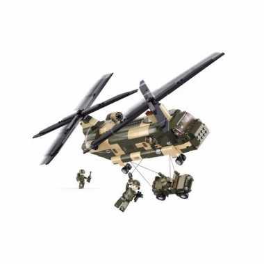 Chinook helikopter bouw blokjes