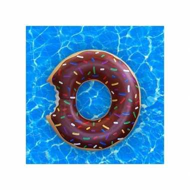 Chocolade donut zwemband