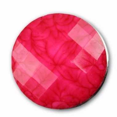 Chunk steen roze 1,8 cm
