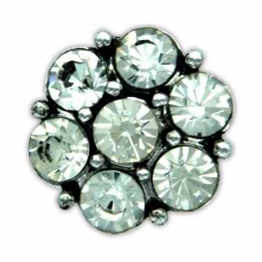 Chunk steentjes zilver 1,8 cm