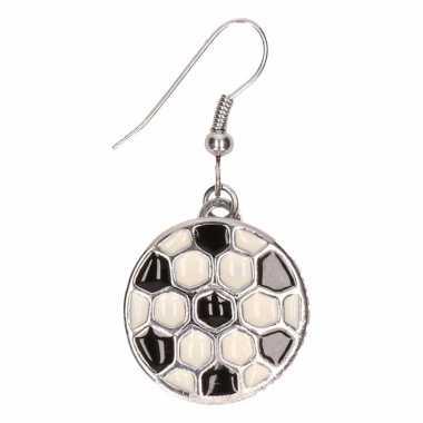 Chunkoorbellen zilveren voetbal voor volwassenen