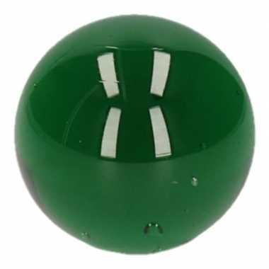 Clown knikker groen 6 cm
