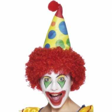 Clowns feest hoeden