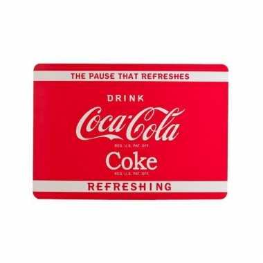 Coca cola tafel placemats