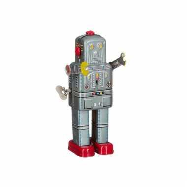 Collectors item robot grijs 20 cm