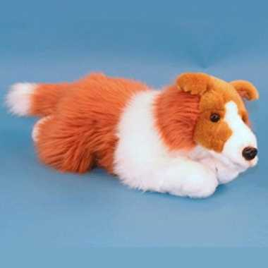 Collie hond knuffel 36 cm