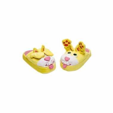 Comfortabele katten pantoffels voor kinderen