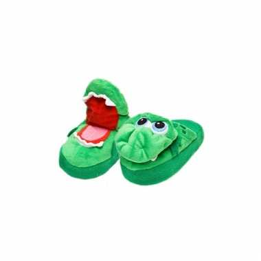 Comfortabele krokodil pantoffels voor kinderen