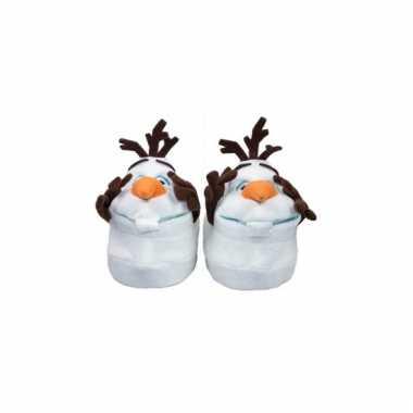 Comfortabele olaf pantoffels voor kinderen