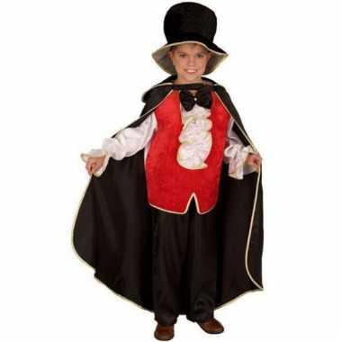 Compleet dracula kostuum voor kinderen