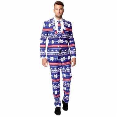 Compleet kostuum in kerst stijl