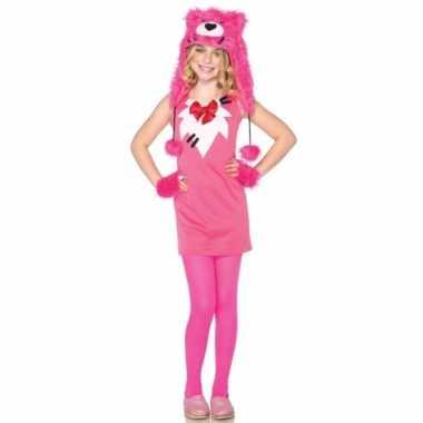 Compleet meiden beren pakje roze