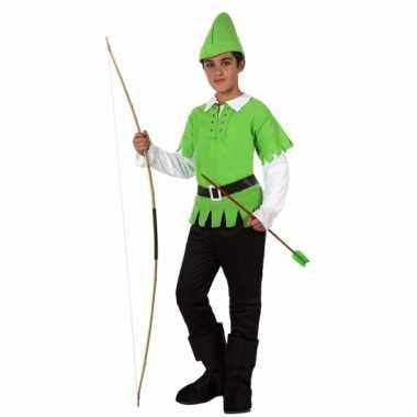 Compleet robin hood kostuum voor kinderen