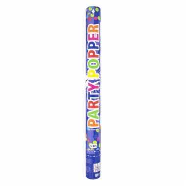 Confetti party knaller gekleurd 57 cm