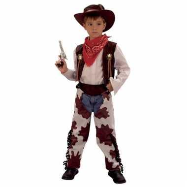 Cowboy koe outfit voor kinderen