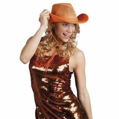 Cowboyhoed met gaas voor volwassenen