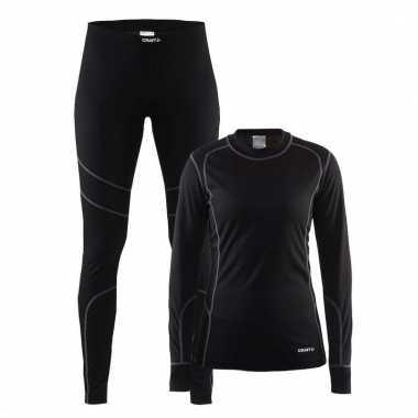 Craft thermo sportkleding lang ondergoed voor dames