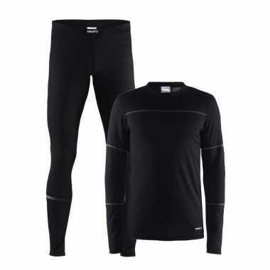 Craft thermo sportkleding lang ondergoed voor heren