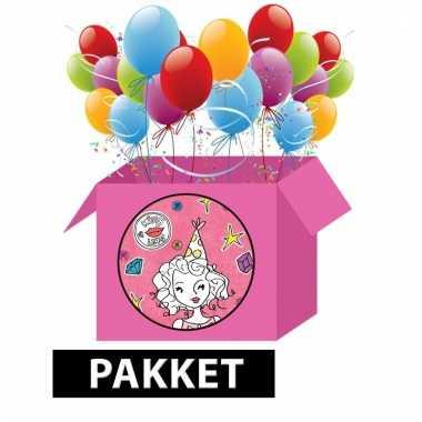 Creatief kinderfeest pakket jill van zapp!