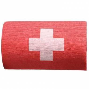 Crepe papier slinger zwitserland
