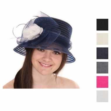 Dames hoed van crin