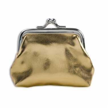 Dames portemonnee goud