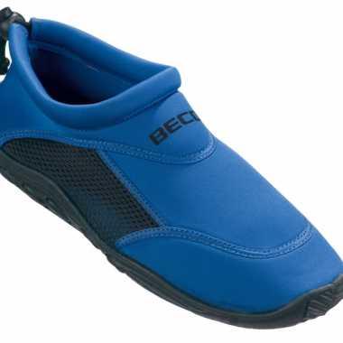 Dames surf en waterschoenen blauw